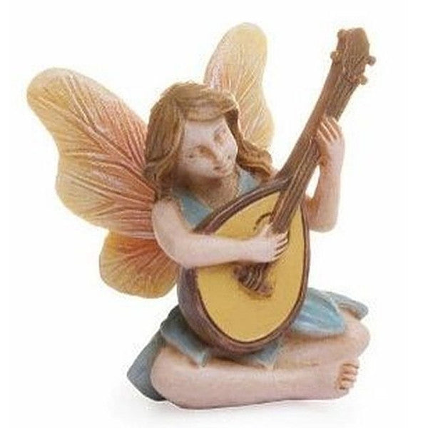 Beautiful Guitar Fairy | Teelie's Fairy Garden Store