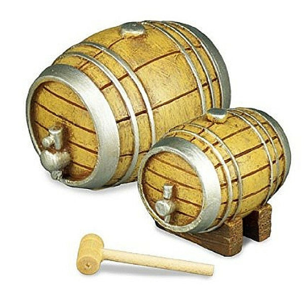 Beer Barrel Tapping Set | Teelie's Fairy Garden Store
