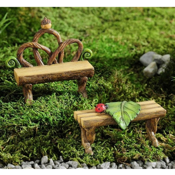 Bench and Table | Teelie's Fairy Garden Store