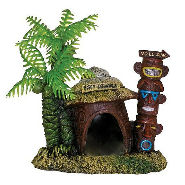 Betta Hut with Palm Tree | Teelie's Fairy Garden Store