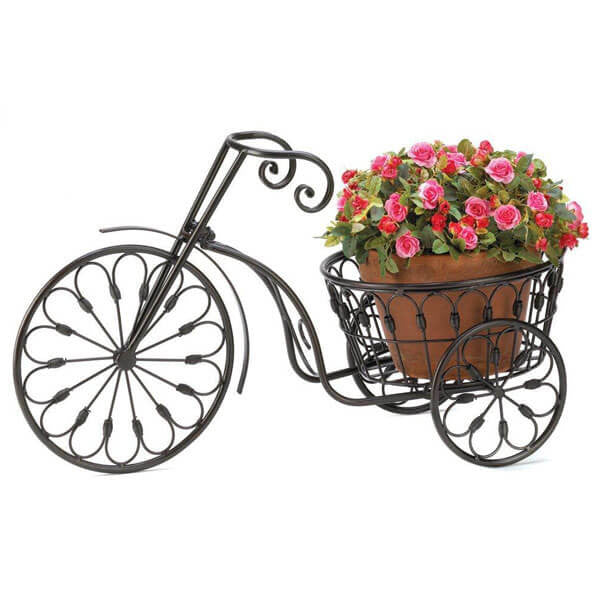 Bicycle Plant Stand | Teelie's Fairy Garden Store