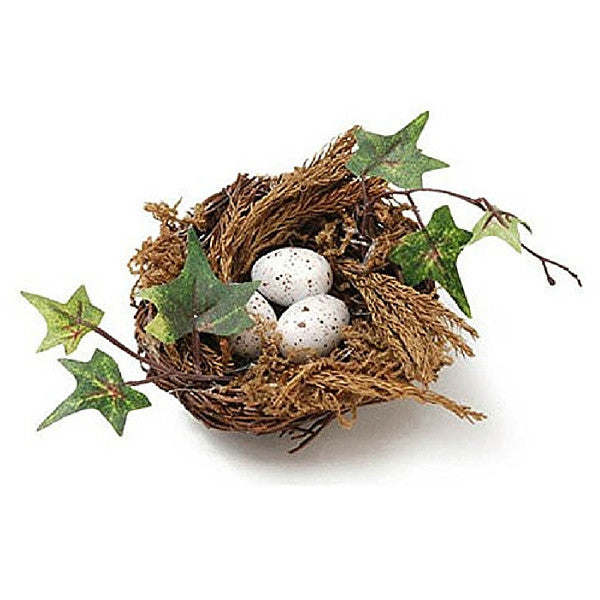 Birds Nest with 3 Eggs | Teelie's Fairy Garden Store