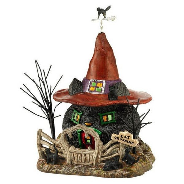 Black Cat Shack (Light House) | Teelie's Fairy Garden Store