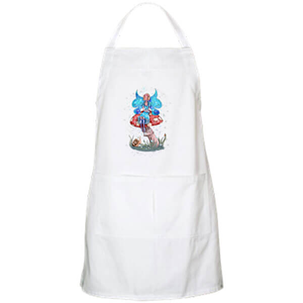 Blossom, the Spring and Summer Fairy Apron in White