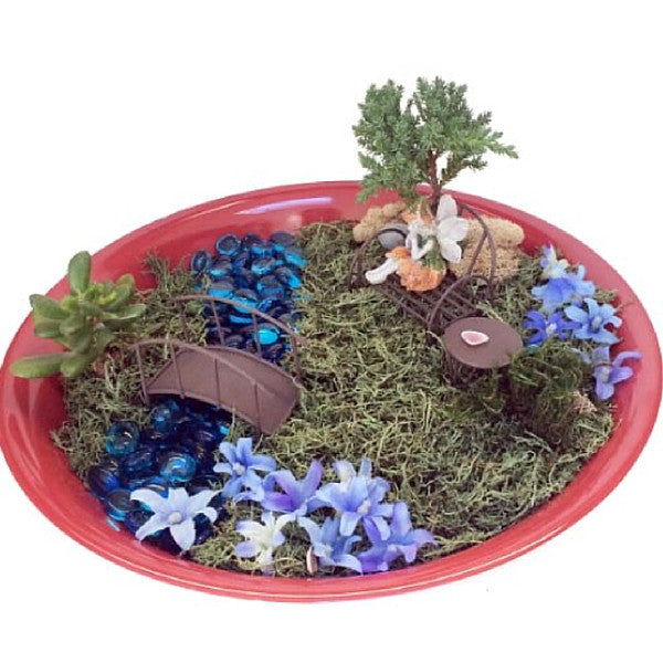 Blue River Fairy Kit | Teelie's Fairy Garden Store