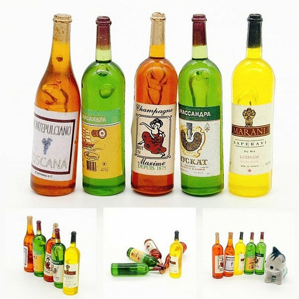 Bottles of Wines | Teelie's Fairy Garden Store