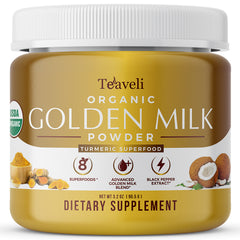 TEAVELI VEGAN ORGANIC GOLDEN MILK POWDER