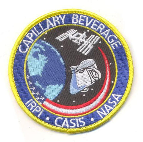 Official Patch for Capillary Beverage - Spaceware