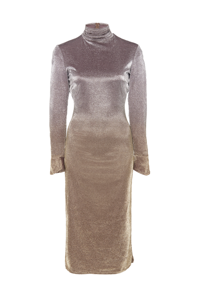 OMBRÉ SHEATH DRESS