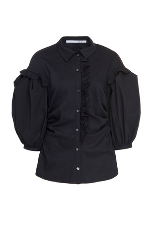 Burnout Velvet Baroque Shirting