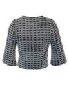 WINDOWPANE CREWNECK SWEATER