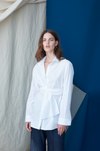 Asymmetric Twist Shirting