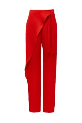 CROSSOVER PEGGED TROUSER