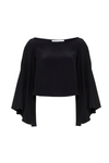 SWING SLEEVE CROP TOP