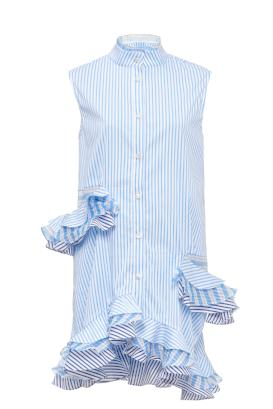 TRIPLE RUFFLE SHIRT