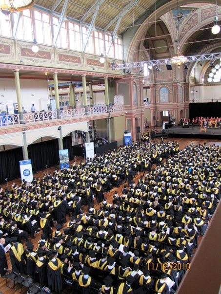 West side 5pm UoM Graduation Video 14 December 2017