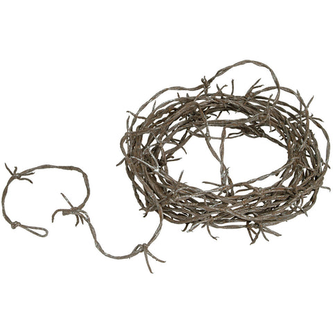 Rusty Barbed Wire Garland (1 ct)