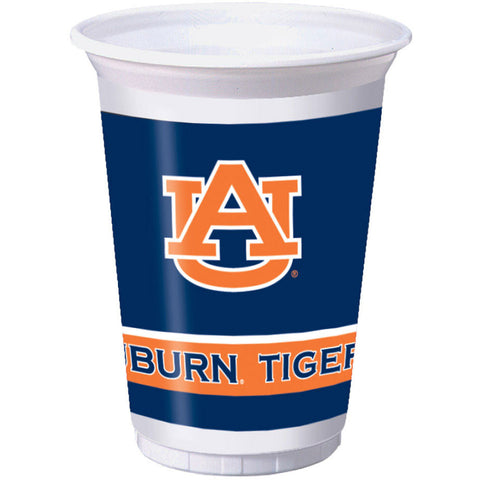 Auburn University 20oz Plastic Cups (8ct)