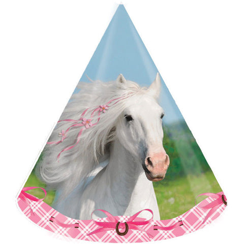 Heart My Horse Party Hats (8ct)