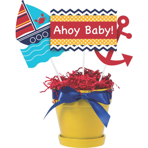 Ahoy Matey! Centerpiece Sticks