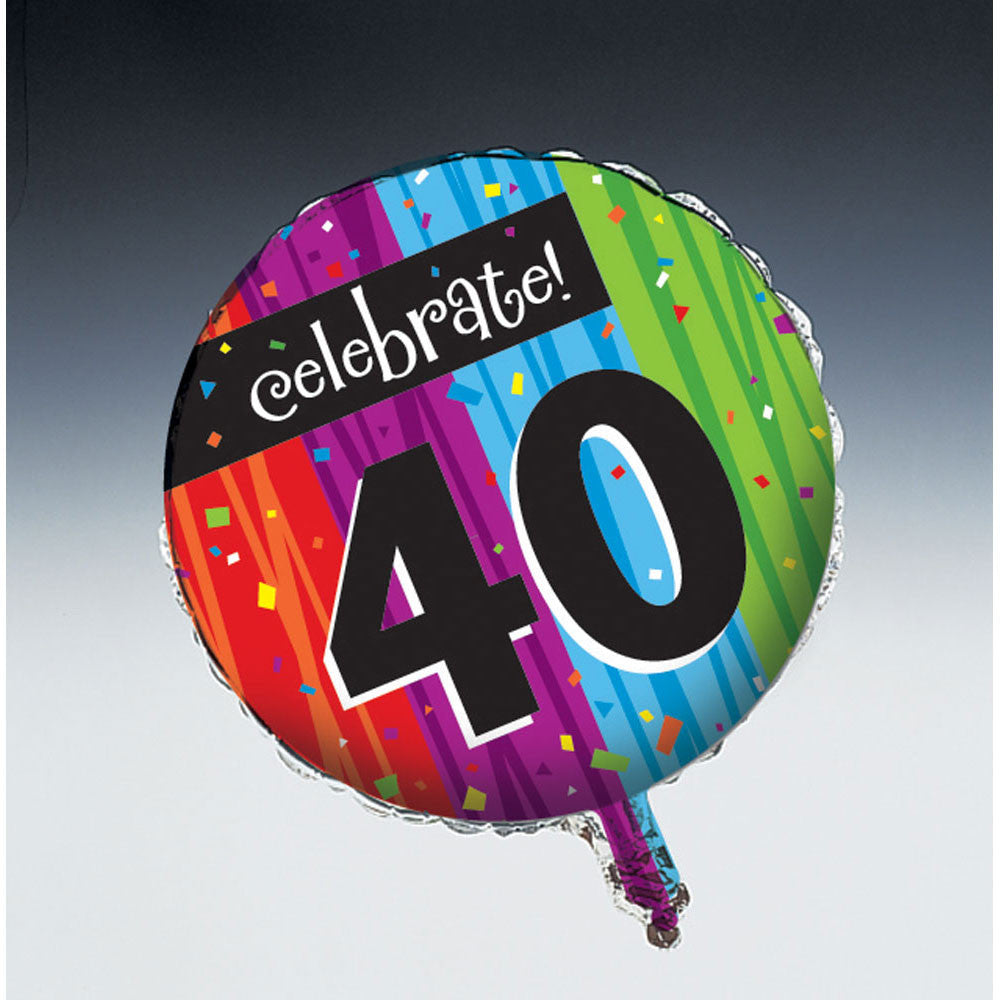 Milestone Celebrations - 40th 18