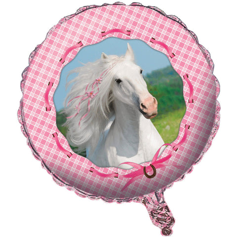 "Heart My Horse 18"" Foil Balloon"