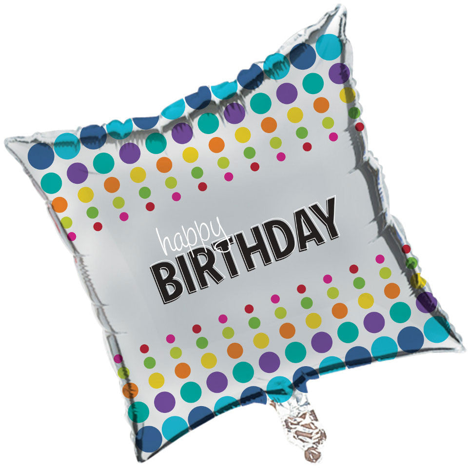 "Birthday Pop 18"" Foil Balloon"