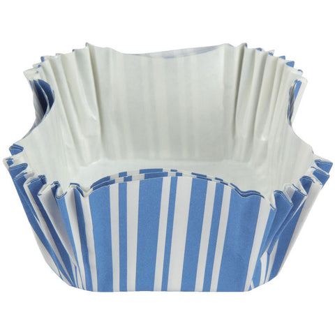 True Blue Square Baking Cups (12ct)