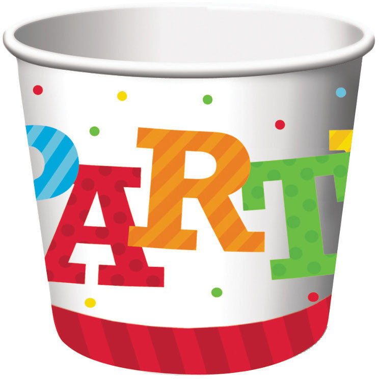 Birthday Stripes Treat Cups (6ct)