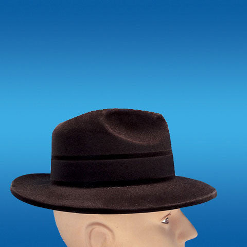 Fedora-Black Velour
