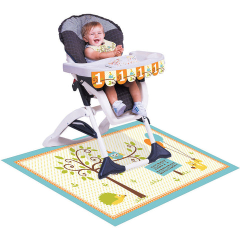 Happi Woodland Boy High Chair Decorating Kit
