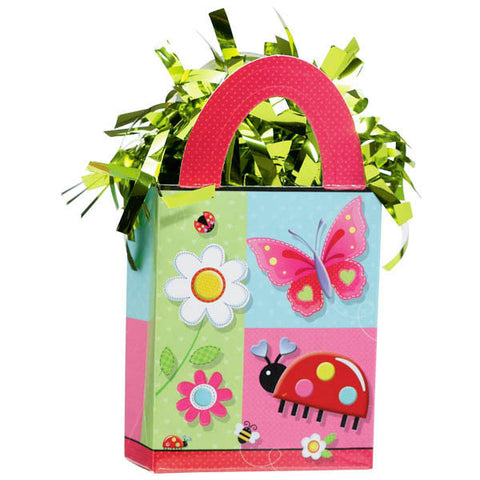 Garden Girl Mini Tote Balloon Weight