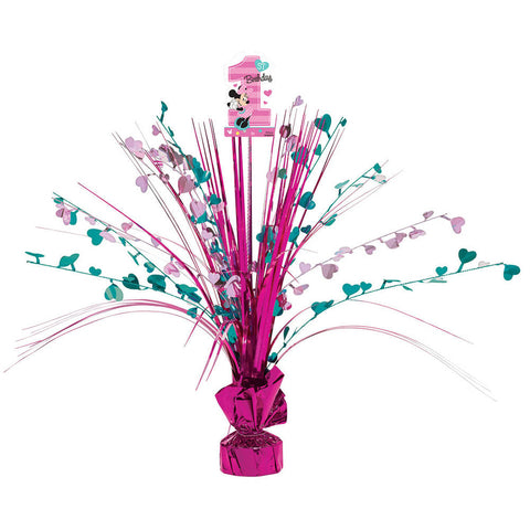 "Minnie Fun To Be One 12"" Spray Centerpiece"