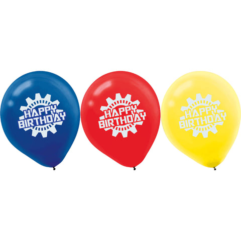 "12"" Transformers Latex Balloons"