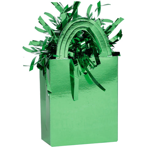 Mini Tote Balloon Weight- Green