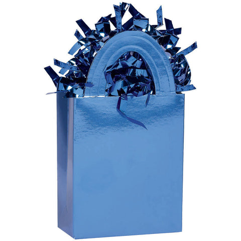 Mini Tote Balloon Weight- Royal Blue