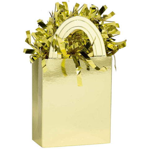 Mini Tote Balloon Weight- Gold