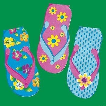 Sandal Notepad (12 ct)