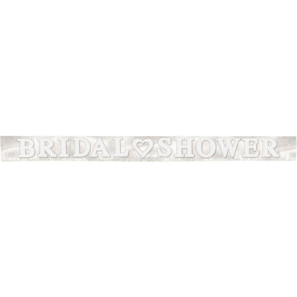 Bridal Shower Giant Fringed Banner