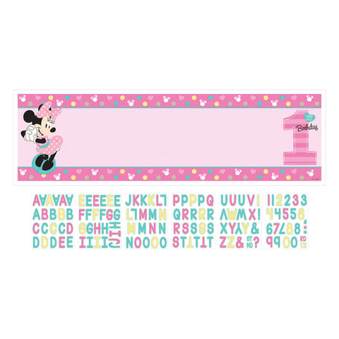 Minnie Fun To Be One Party Banner