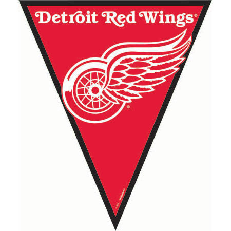Pennant Banner- Detroit Red Wings