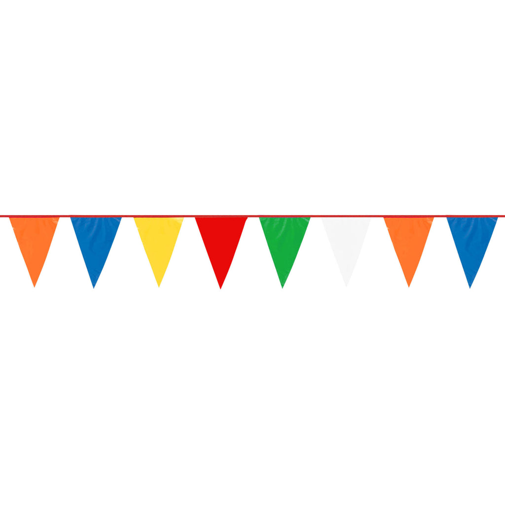 120' Pennant Banner- Multi Color