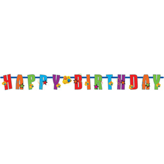 Happy Birthday Letter Banner