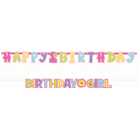 Birthday Girl Letter Banner Combo Pack