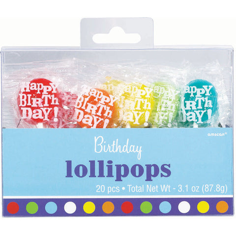 Birthday Fever Lollipops