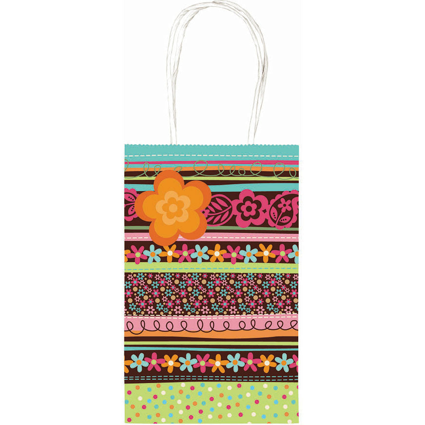 Boho Stripe Cub Gift Bag