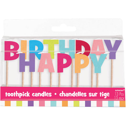 Hot Spot Girl Toothpick Candles