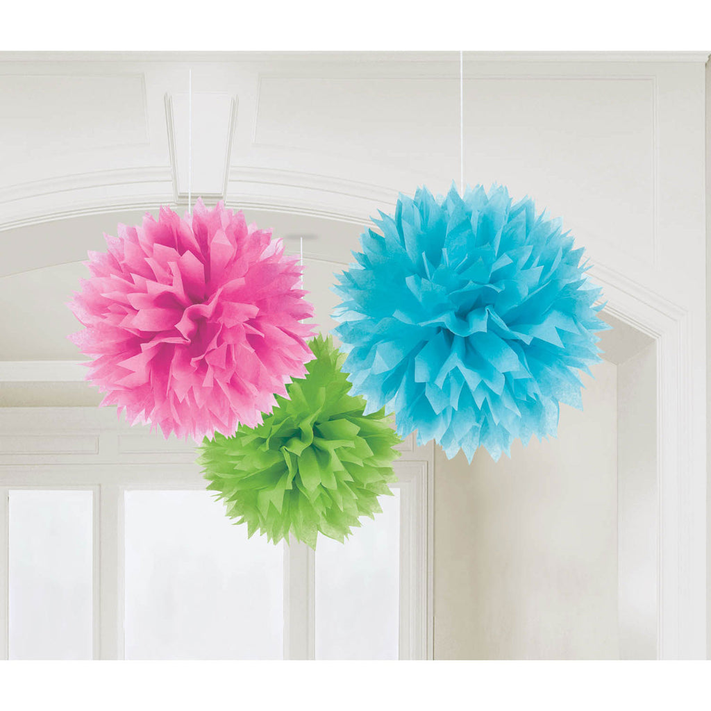 Multi-Color Fluffy Decorations