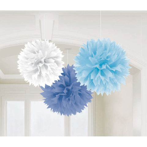 Boy Baby Shower Fluffy Decorations