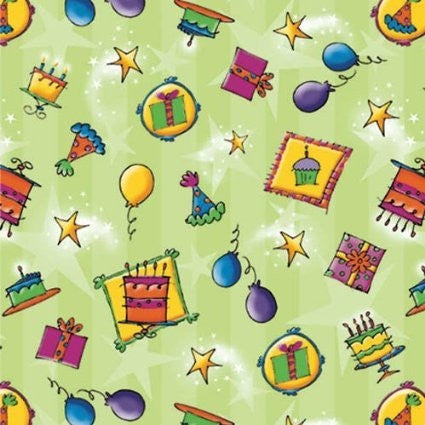 Stardust Birthday Printed Gift Wrap Roll
